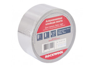 Алюминиевая клейкая лента ROCKWOOL 100 мм