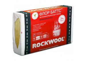 Каменная вата ROCKWOOL ФЛОР БАТТС 25 мм 1000 х 600 х 25 мм