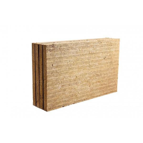 Каменная вата ROCKWOOL Рокфасад 1000 х 600 х 50 мм 4 шт. в упаковке