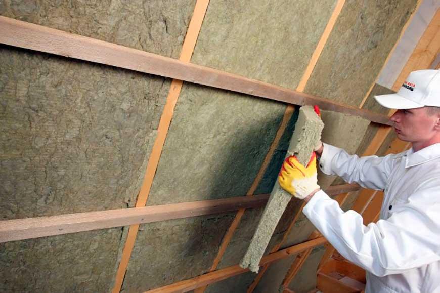 Методы монтажа каменной ваты